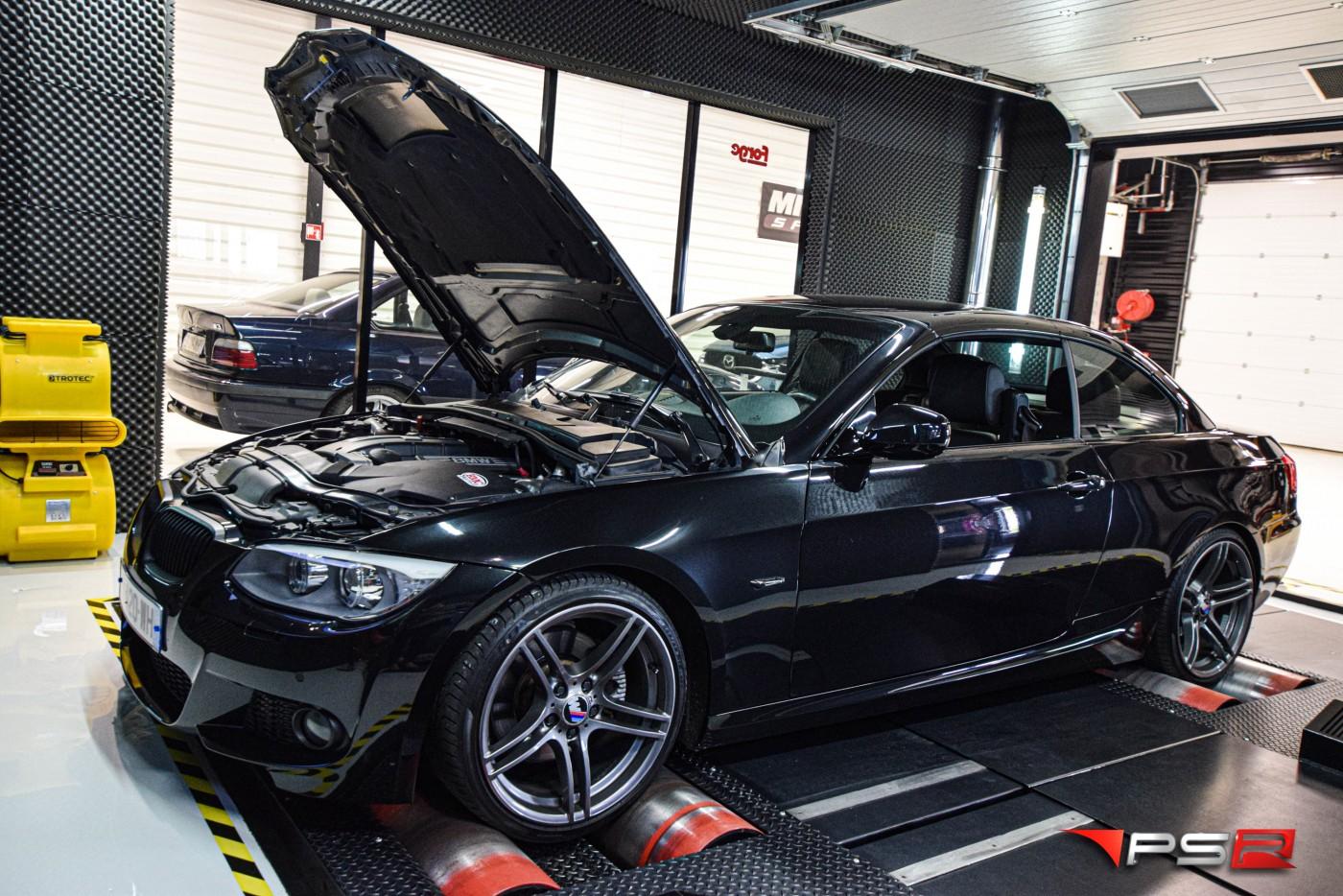 BMW 325 i CABRIOLET (e93) 218 HP TUNE