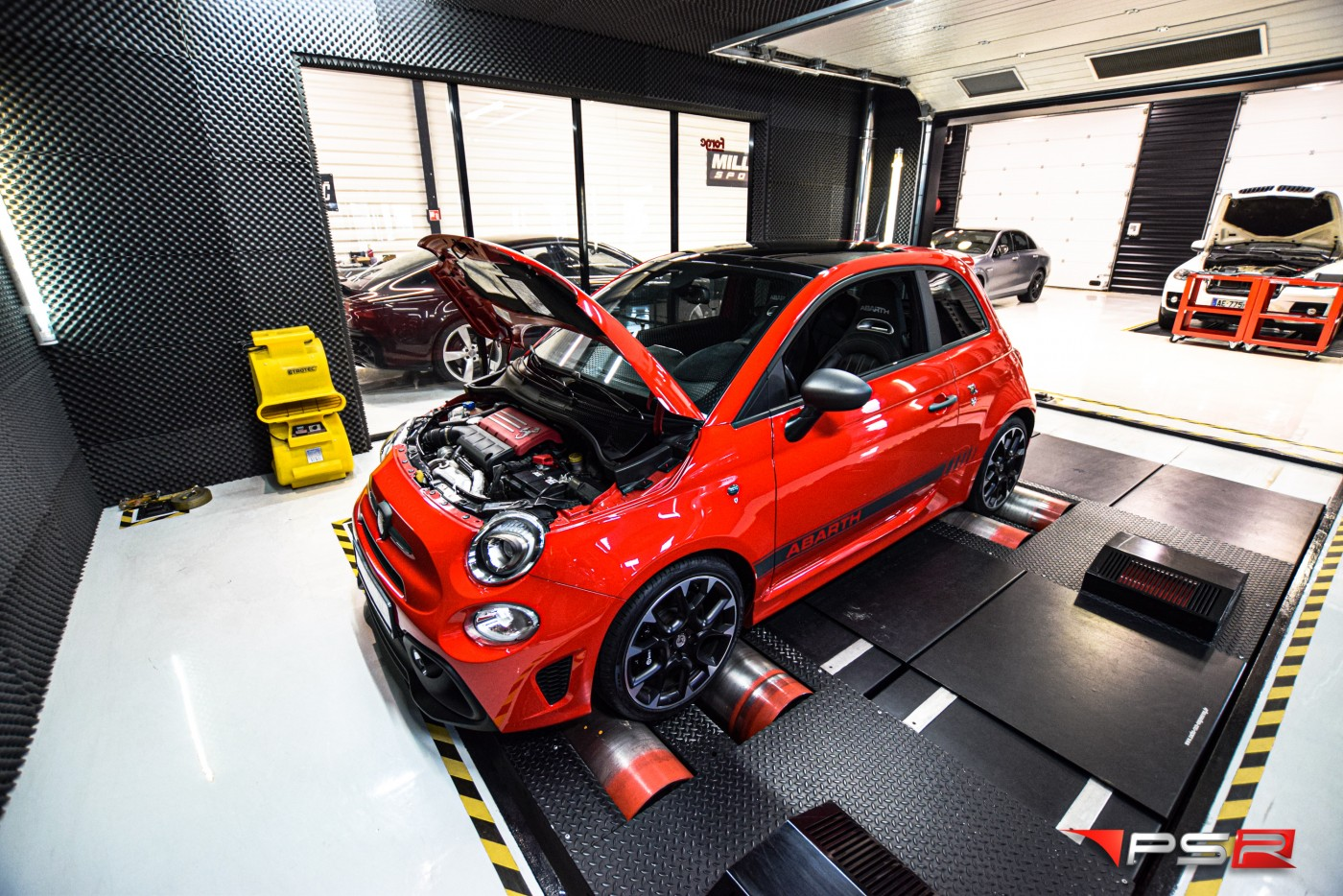 FIAT 595 ABARTH 180 HP TUNE