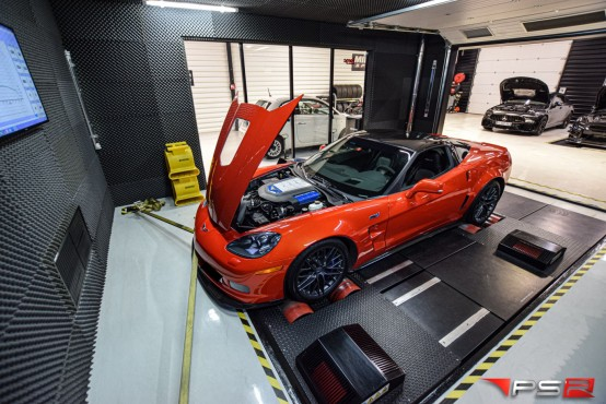 CORVETTE ZR1 647 HP TEST BANC