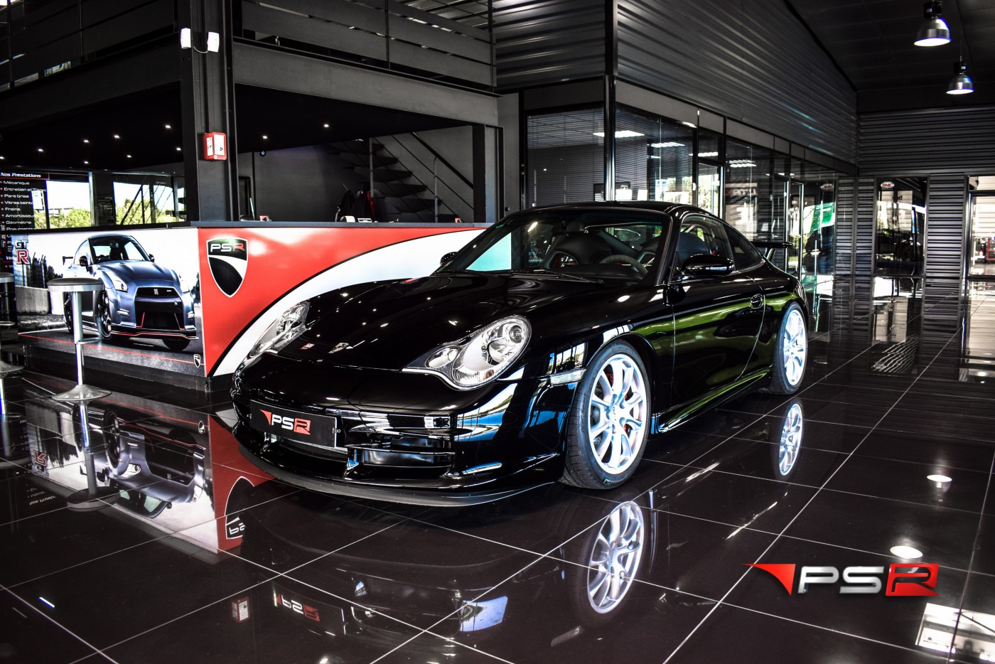 PORSCHE 911 TYPE 996 GT3