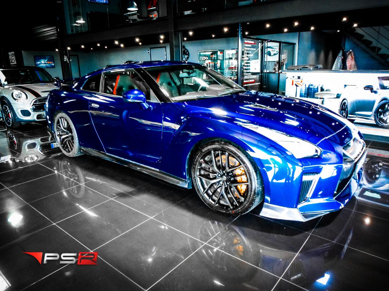 NISSAN GT-R R35 570 hp